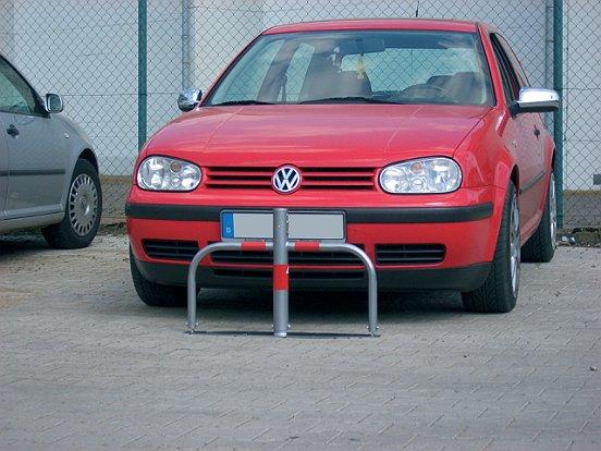 Parkplatzsperre umlegbar 60mm Profilzylinder 2