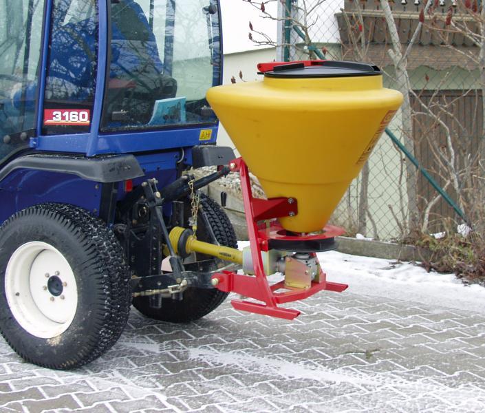 Anbaustreuer 130 Liter mit Zapfwelle mit HG