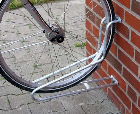 Fahrradparker Einzelklemme