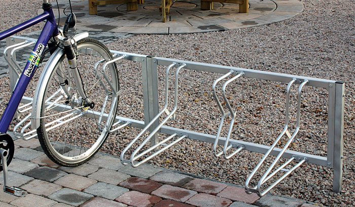 Fahrradparker zum Einbetonieren