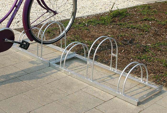 Fahrradparker zerlegte Ausfuehrung