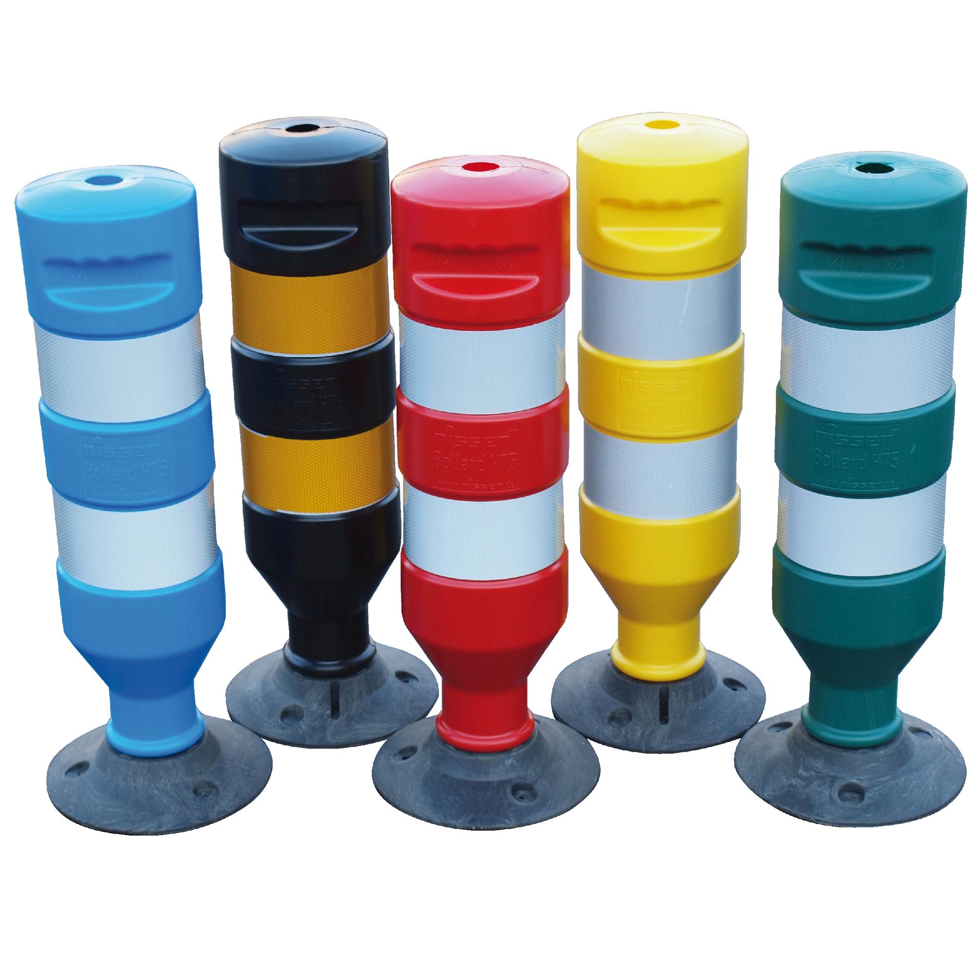 Kunststoffpfosten in 5 verschiedenen Farben!